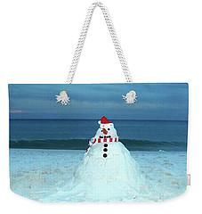 Sandy The Snowman Weekender Tote Bag