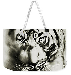 Sandy Tiger Weekender Tote Bag