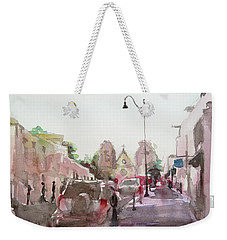 Sanfransisco Street Weekender Tote Bag by Becky Kim