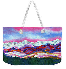 Sangre De Cristo Mountains Weekender Tote Bag