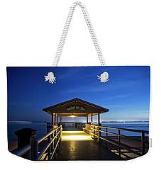 Sanibel City Pier Weekender Tote Bag
