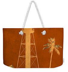 Sanibel Island Lighthouse Weekender Tote Bag by Trish Tritz