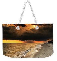 Sanibel Island Rain Weekender Tote Bag