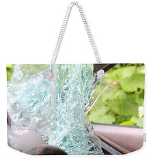 Weekender Tote Bag featuring the photograph Sans Rear View by Marie Neder