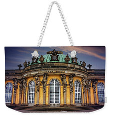 Weekender Tote Bag featuring the photograph Sanssouci Palace In Potsdam Germany  by Carol Japp