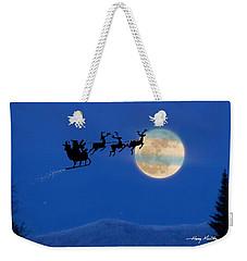 Santa 1 Weekender Tote Bag