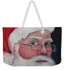 Santa 2016 Weekender Tote Bag