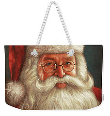Santa 2017 Weekender Tote Bag