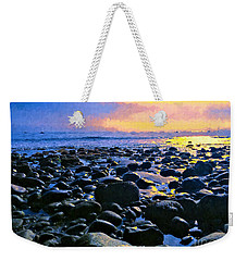 Santa Barbara Beach Sunset California Weekender Tote Bag