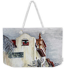 Santa Barbara Courthouse Bell Tower Weekender Tote Bag