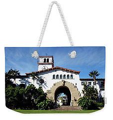 Santa Barbara Courthouse -by Linda Woods Weekender Tote Bag by Linda Woods