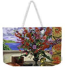 Santa Barbara Floral Weekender Tote Bag