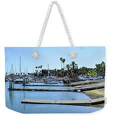 Santa Barbara Marina Weekender Tote Bag