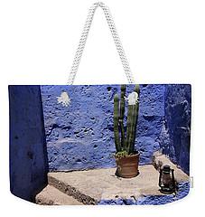 Weekender Tote Bag featuring the photograph Santa Catalina Monastery by Aidan Moran