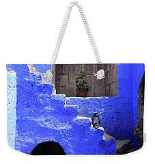Weekender Tote Bag featuring the photograph Santa Catalina Monastery, Arequipa, Peru by Aidan Moran