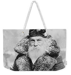 Santa Claus Weekender Tote Bag by David Bridburg