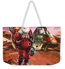 Santa Claus On Mars Weekender Tote Bag by English School
