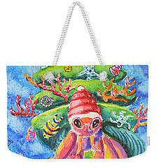 Santa Crab Weekender Tote Bag