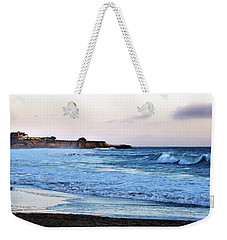 Santa Cruz Bay Waves Weekender Tote Bag