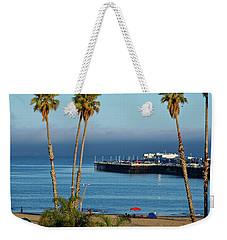 Santa Cruz Beach Weekender Tote Bag