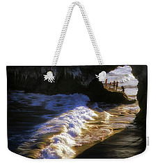 Santa Cruz 'bridge' California Coastline Weekender Tote Bag