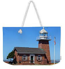 Santa Cruz Lighthouse Weekender Tote Bag