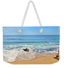 Santa Cruz Private Beach Weekender Tote Bag