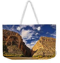 Santa Elena Canyon 3 Weekender Tote Bag