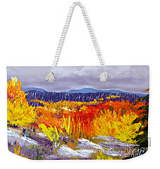 Santa Fe Aspens Series 1 Of 8 Weekender Tote Bag