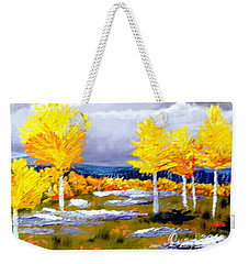 Santa Fe Aspens Series 2 Of 8 Weekender Tote Bag