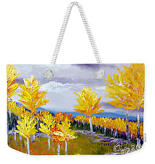 Santa Fe Aspens Series 3 Of 8 Weekender Tote Bag