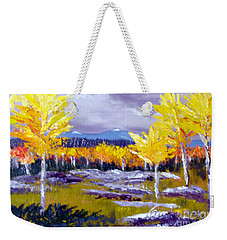 Santa Fe Aspens Series 4 Of 8 Weekender Tote Bag