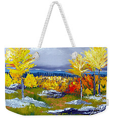 Santa Fe Aspens Series 5 Of 8 Weekender Tote Bag
