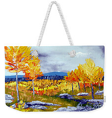 Santa Fe Aspens Series 6 Of 8 Weekender Tote Bag