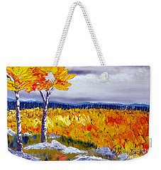 Santa Fe Aspens Series 7 Of 8 Weekender Tote Bag