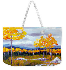 Santa Fe Aspens Series 8 Of 8 Weekender Tote Bag