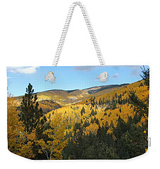 Santa Fe Autumn View Weekender Tote Bag