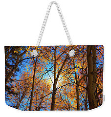 Weekender Tote Bag featuring the photograph Santa Fe Beauty II by Stephen Anderson