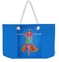 Santa Fe Girl  Weekender Tote Bag