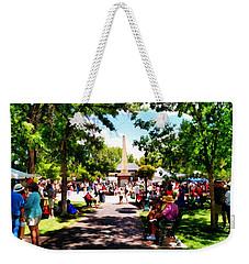 Santa Fe New Mexico Weekender Tote Bag by Joseph Frank Baraba