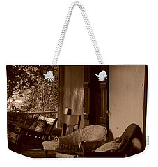 Santa Fe Porch Weekender Tote Bag