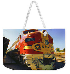 Santa Fe Railroad Weekender Tote Bag