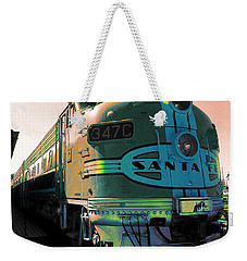 Santa Fe Railroad New Mexico Weekender Tote Bag