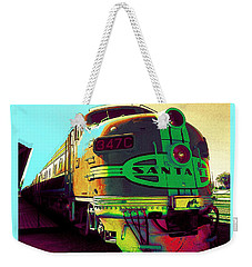 Santa Fe Railroad New Mexico Weekender Tote Bag