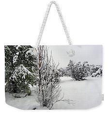 Santa Fe Snowstorm 2017 Weekender Tote Bag