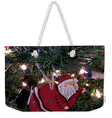 Santa Is Almost Here Weekender Tote Bag