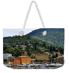 Weekender Tote Bag featuring the photograph Santa Margherita Ligure by Corinne Rhode