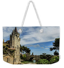 Santa Marta Beach In Cascais, Portugal Weekender Tote Bag