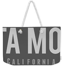 Santa Monica California Weekender Tote Bag by Sean McDunn