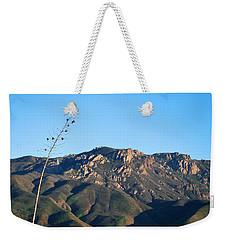 Weekender Tote Bag featuring the photograph Santa Monica Mountains View  by Matt Harang